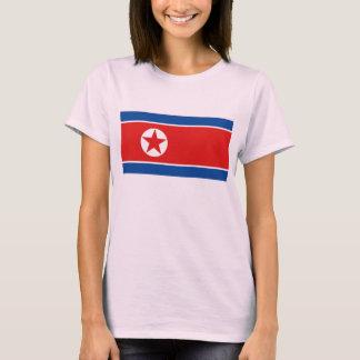 Karten-T - Shirt Nordkorea-Flaggen-x