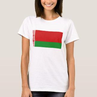 Karten-T - Shirt Weißrussland-Flaggen-x