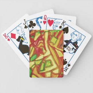 Käsekuchen Bicycle Spielkarten