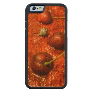 Käsekuchen-Detail-Foto Bumper iPhone 6 Hülle Kirsche