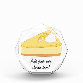 Käsekuchen: Ein köstlicher Nachtisch kundengerecht Acryl Auszeichnung