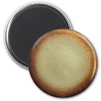 Käsekuchen-Magnet Runder Magnet 5,7 Cm