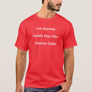 Käsekuchen (weiß) T-Shirt