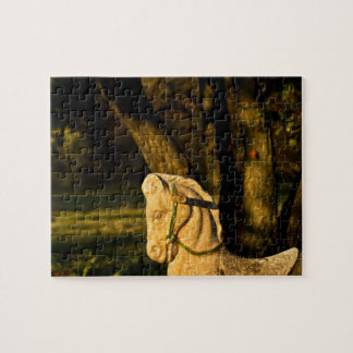 Kastanien-Pferd Puzzle