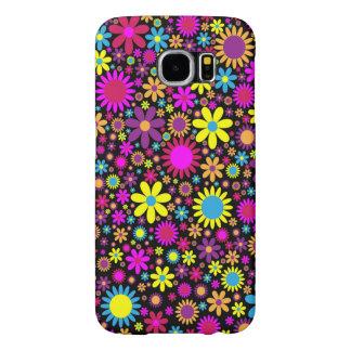Kasten Blumen-Powerhippie-Samsungs-Galaxie S6