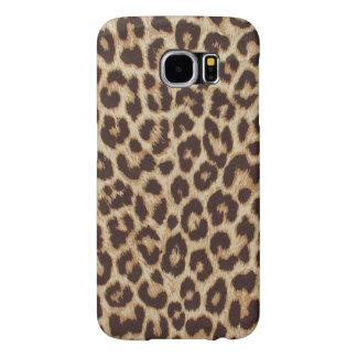 Kasten Leopard-Druck-Samsung-Galaxie-S6