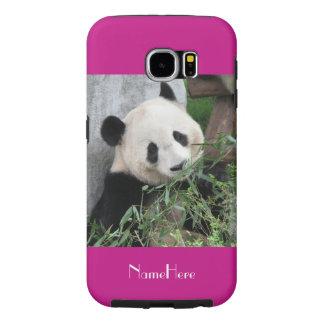 Kasten-Panda-Pink Samsung-Galaxie-S6 stark