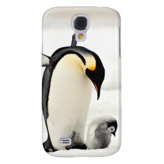 Kasten Penguins-Fotosamsungs-Galaxie S4 Galaxy S4 Hülle