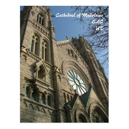 Kathedrale von Madeleine - Postkarte