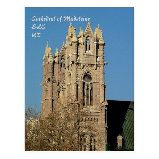 Kathedrale von Madeleine Postkarten
