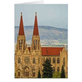 Kathedrale von St. Helena, Helena, Montana Karte