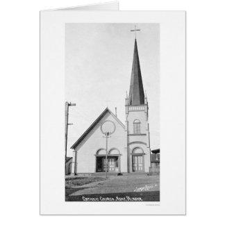 Katholische Kirche Nome Alaska 1921 Karte