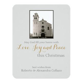Katholische Kirche: Weihnachtsgruß 10,8 X 14 Cm Einladungskarte