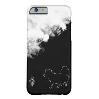 Kato und Wolken schwarzer u. weißer Pomapoo Reihen Barely There iPhone 6 Hülle
