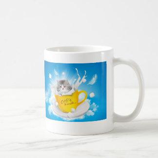 Kätzchen-Kaffeetasse Tasse