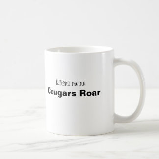 Kätzchen Meow, Puma-Brüllen! Tasse