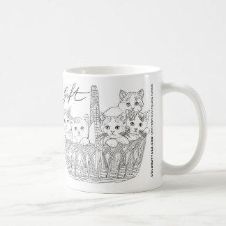 Kätzchen-Power! Sie sind eine Geschenk-Tasse Tasse