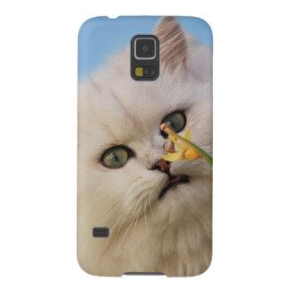 Kätzchen, welches die Narzisse liebt Samsung Galaxy S5 Cover