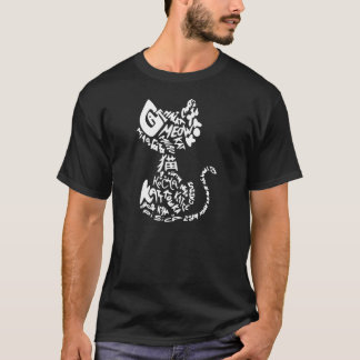 Katze auf Katze T-Shirt