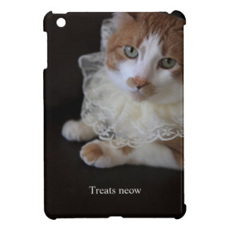 Katze im Spitzen- Kragen iPad Mini Hülle