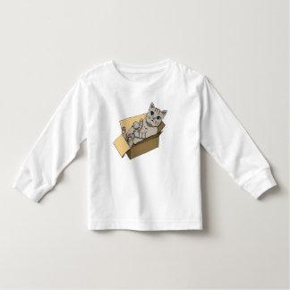 Katze in einem Sammelpack Kleinkind T-shirt