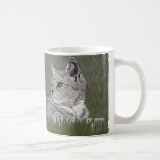 Katze Kaffeetasse