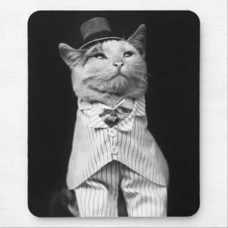 Katze mit einem Hut, 1906 Mauspad