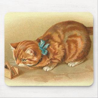 """Katze und Maus "" Mousepad"