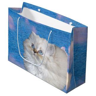 Katze und Wasser Große Geschenktüte