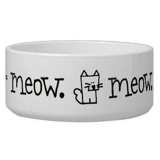 KatzeMeow Meepple Keramik-Haustier-Schüssel Napf