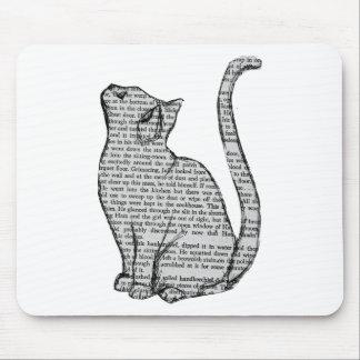 Katzen-Buch Mousepad