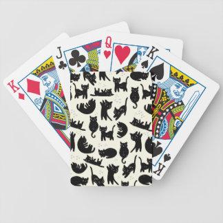 Katzen-Dame Bicycle Spielkarten