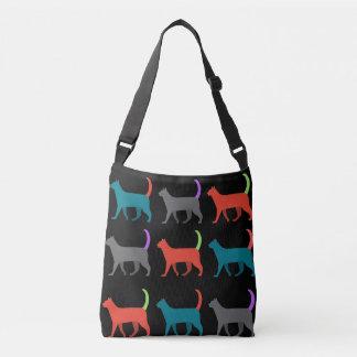 Katzen in der crossbody Tasche der Tasche