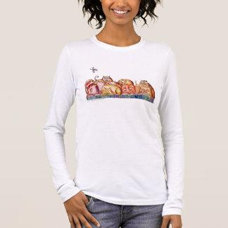 Katzen Langärmeliges T-Shirt
