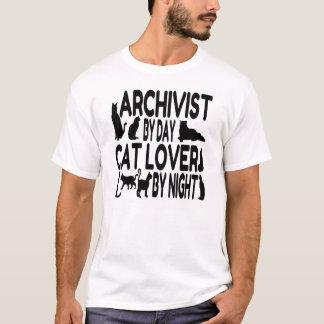 Katzen-Liebhaber-Archivar T-Shirt