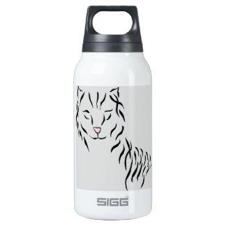 Katzen-Liebhaber-Freuden-Bandabstrakte Thermoflaschen