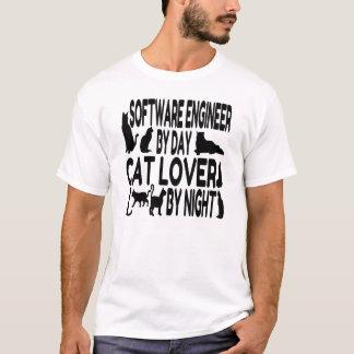 Katzen-Liebhaber-Software Engineer T-Shirt