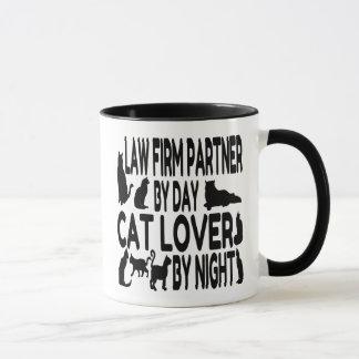 Katzen-Liebhaber-Sozietäts-Partner Tasse