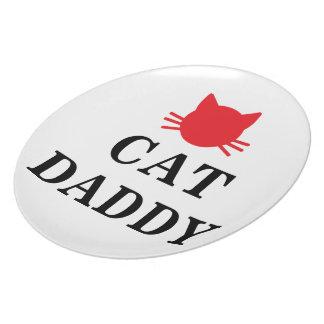 Katzen-Vati-Platte Melaminteller