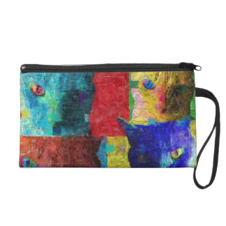 Katzen Wristlet Handtasche