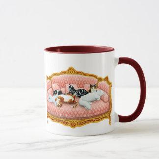 Katzenartige Abgabe-Tasse Tasse