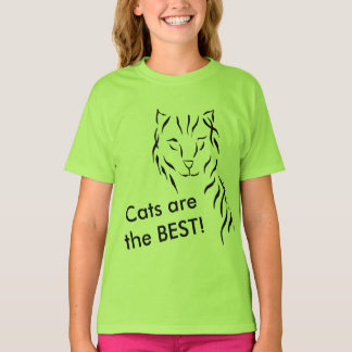 Katzenkitty-Kätzchen ist die BESTEN T-Shirt