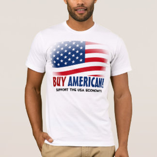 Kaufen Sie Amerikaner! Gemacht im T-Shirt