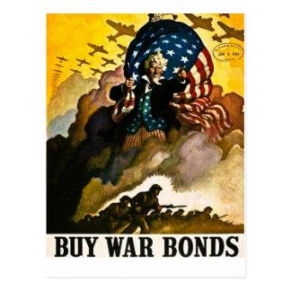 Kaufen Sie Kriegs-Bindungen - Vintagen Zweiten Postkarte