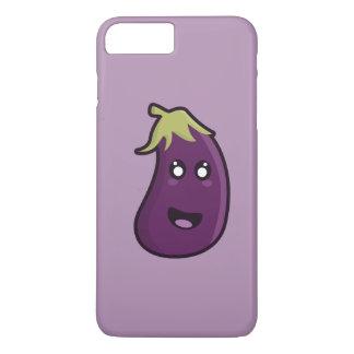 Kawaii Aubergine iPhone 8 Plus/7 Plus Hülle