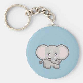 Kawaii Elefant Schlüsselanhänger