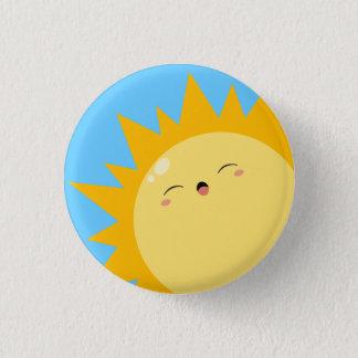 Kawaii Sun Aufstiegs-Knopf Runder Button 2,5 Cm