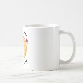 Kawaii Waffel Kaffeetasse