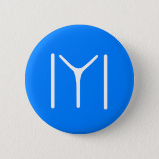 Kayi Stamm Oghuz Runder Button 5,1 Cm