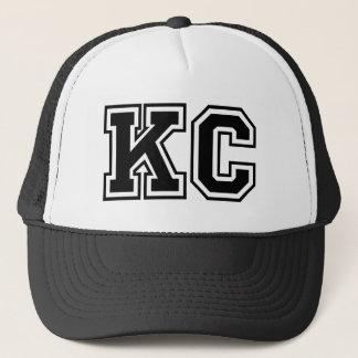 """Kc-"" Monogramm Truckerkappe"